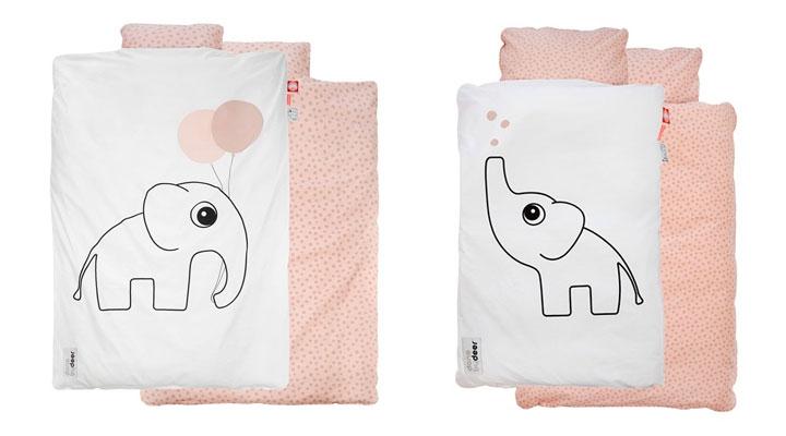 Sengetøj Done by deer junior baby økologisk - don by der