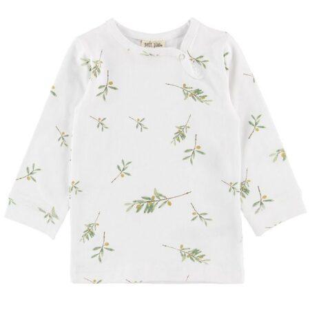 Petit Piao Bluse - Olive Print
