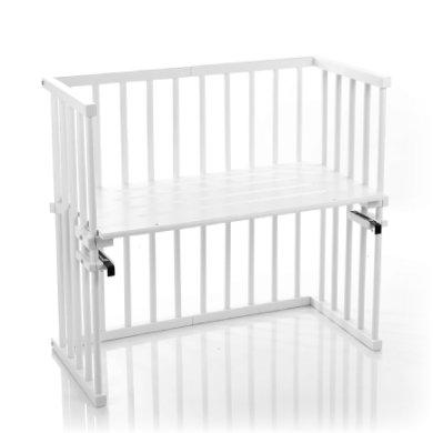 BabyBay ekstra seng mini hvid extra ventileret