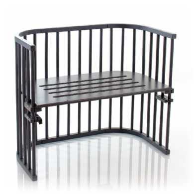 Babybay Sideseng Maxi, Skiffergrå lak - Gr.51x89 cm