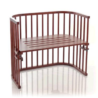 Babybay Sideseng Maxi, lakeret i kolonistil - brun - Gr.51x89 cm