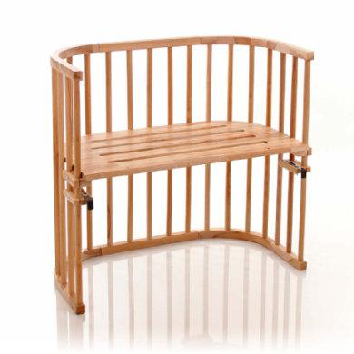 Babybay original seng med ekstra luftcirkulation - olieret kernebøg. - natur