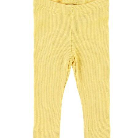 Petit Piao Leggings - Rib - Yellow